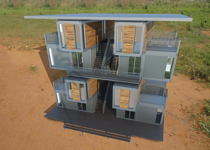 Woningen Ghana