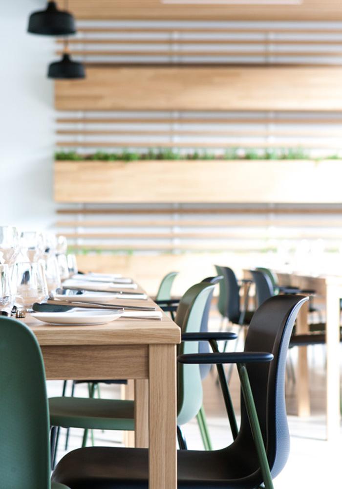 Interior restaurant Stenden University